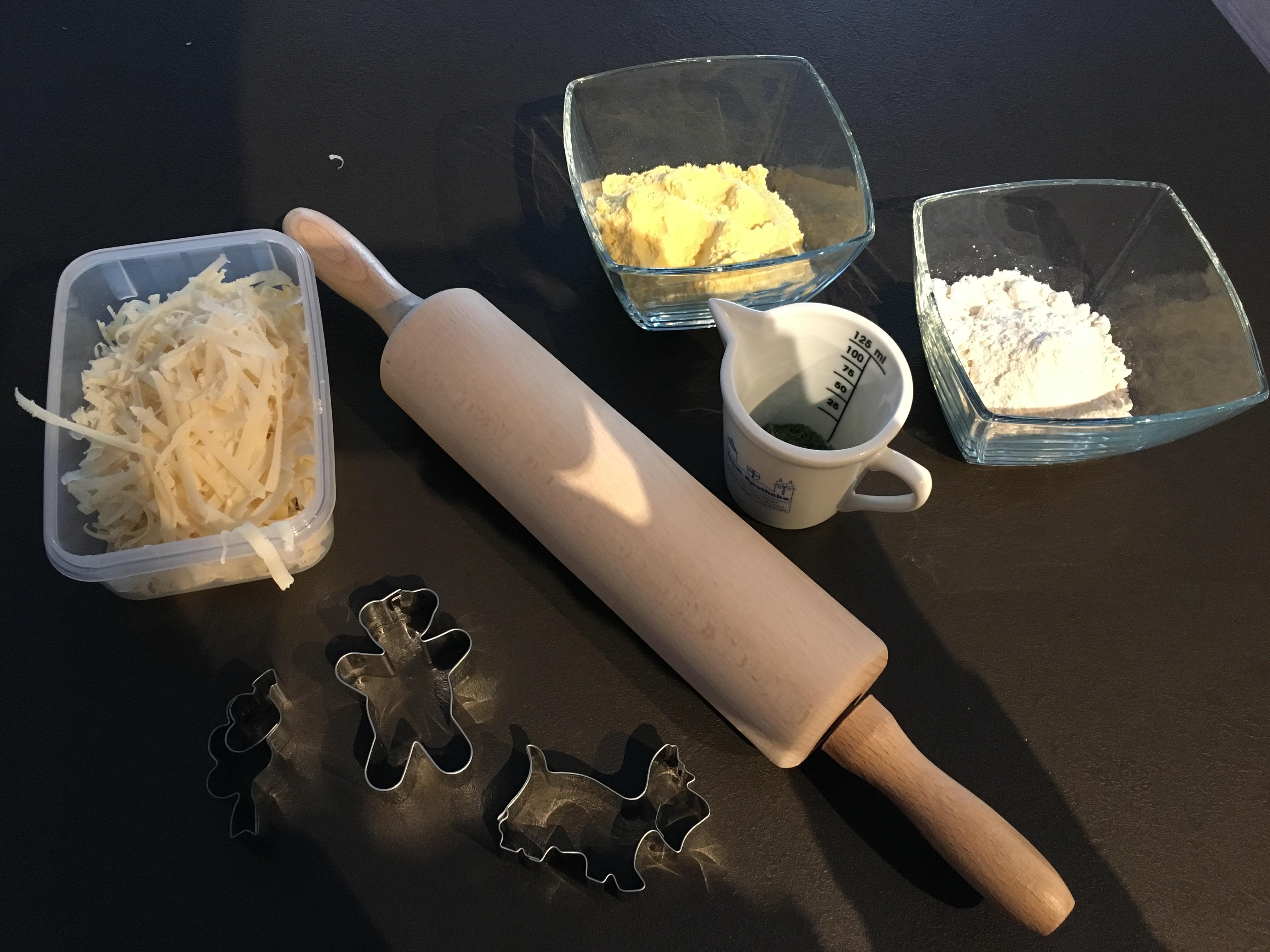 Zutaten für Kekse