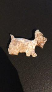 Hundekeks in Westieform