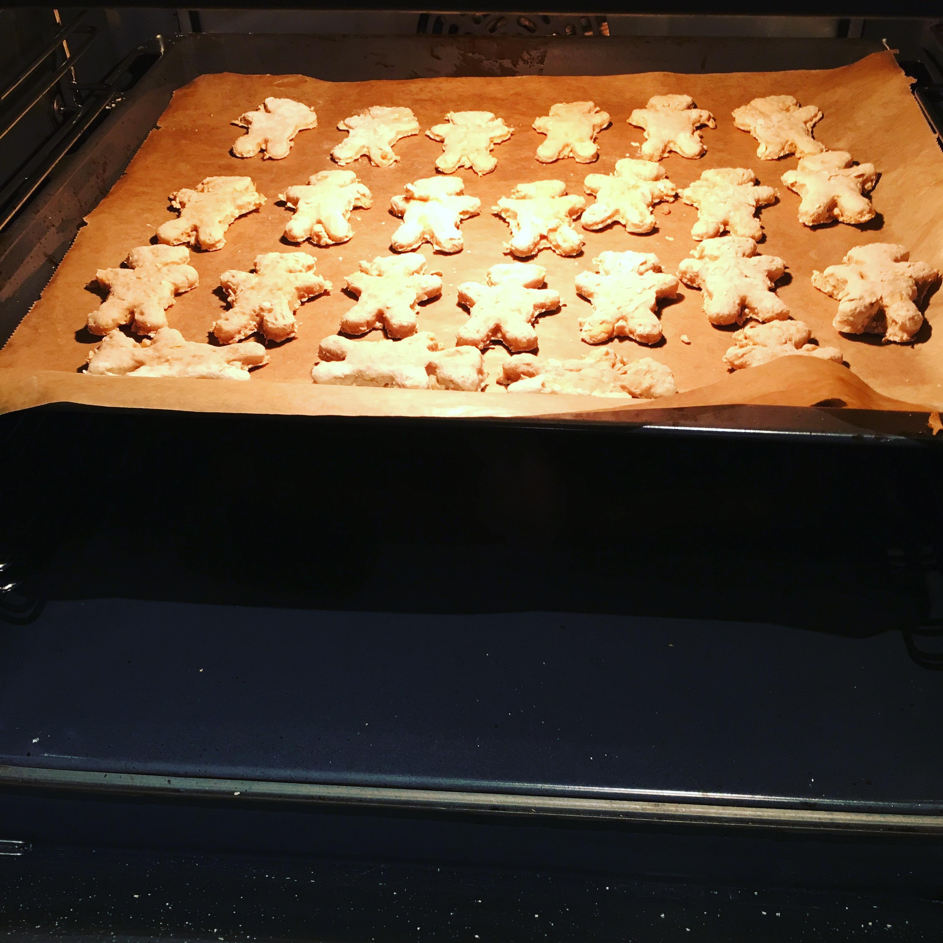 Kekse im Backofen