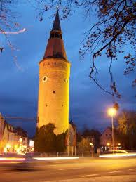 der schiefe Turm von Kitzingen